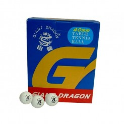 Giant Dragon Tafeltennisballen Super 3 ster (120) Wit
