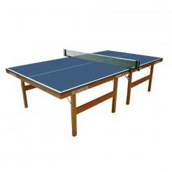 Heemskerk tafeltennistafel Super (houten onderstel) (blauw)
